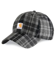 Carhartt - Product - Men's Camden Plaid Cap