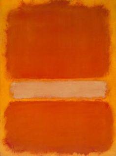 Orange on Yellow. Rothko