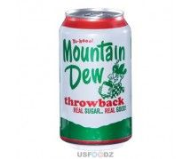 Mountain Dew Throwback ml) American Drinks, Mountain Dew, Snacks, Treats, Hors D'oeuvres