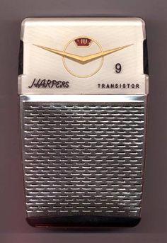 Harpers 9 Spark Gap, Pocket Radio, Receptor, Retro Clock, Retro Radios, Television Set, Antique Radio, Transistor Radio, Vintage Classics