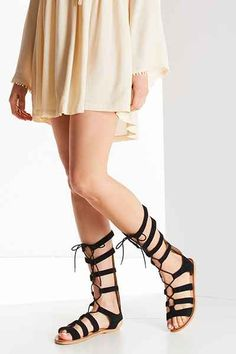 Tall Suede Gladiator Sandal - Urban Outfitters