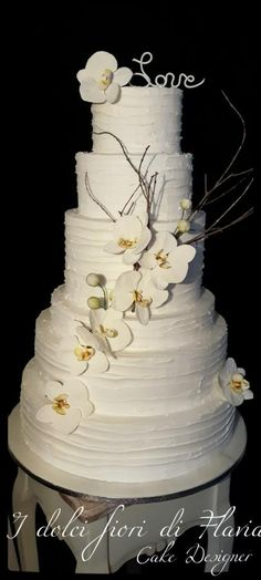Wedding cake by DolciFioriDiFlavia - http://cakesdecor.com/cakes/291222-wedding-cake