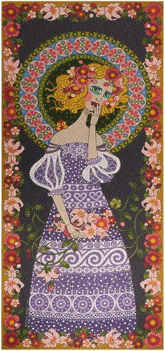 sonhadora_blog.jpg (753×1600) - mosaico de tinta - Andrea Horn