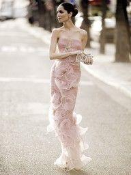 Pink Beauty! Make 'Em Blush with a Blush Bridal Gown.