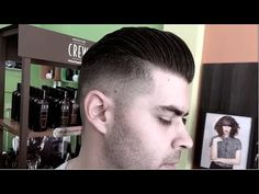 Modern Hairstyle For Men   Styling With Molding Clay   American Crew