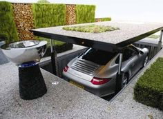 Underground Carport. Jesse would totally have one of these, because he's way cooler than I am. ;)