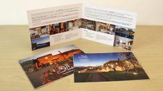 Disegno brochure Casale Galli, Trevinano Italia