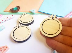 3 Pack 1.5 Mini Embroidery Hoop  Tiny Embroidery Hoops