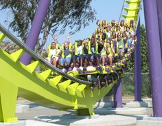 Medusa: Six Flags Discovery Kingdom - Vallejo, California