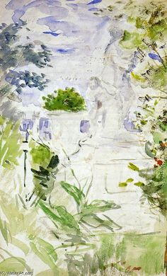 The Tuileries From Berthe Morisot