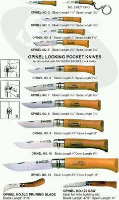 Opinel No. 8 Garden Knife - Page 2 detox water cleanse Cool Knives, Knives And Tools, Knives And Swords, Opinel Knife, Global Knife Set, Knife Sets, Swiss Army Knife, Knife Making, Folding Knives