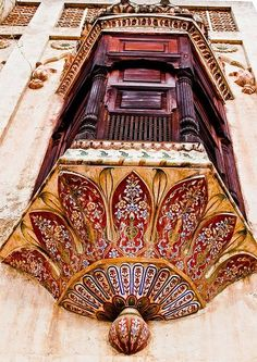 :::: PINTEREST.COM christiancross ::::Balcony in Pakistan. Photo by Shaukat Niazi.