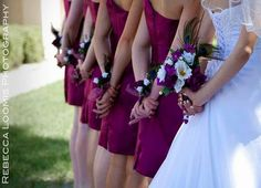 Bridal Party Accessories Wedding Flowers By BudgetWeddingBouquet 8200