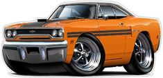 Classic Car 1970 Plymouth GTX Wall Decal, Automobile Wall Murals, Plymouth Wall Decal, Vintage Car D Chevrolet Bel Air, Weird Cars, Cool Cars, Dodge Charger, Muscle Cars, Ford Modelo T, Rolls Royce, 1970 Plymouth Gtx, Cadillac