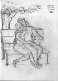 Valentines day #illustration #art #artwork #drawings  #couple