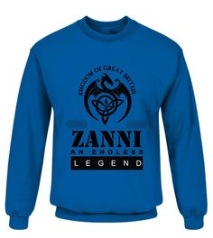THE LEGEND OF THE ZANNI