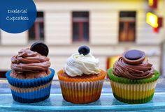 Sweet Trolley: Toffifee-Cupcakes mit Nutella-Creme