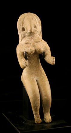 Indus Valley Terracotta Figurine of a Fertility Goddess - X.0569  Origin: Pakistan/Western India  Circa: 3000 BC to 2500 BC
