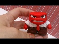 Disney Inside Out Anger clay tutorial