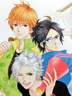 Natsume, Tsubaki & Azusa (Brothers Conflict)