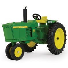 Die-cast construction and built for play. Tractor features: detailed engine, flat top fenders, and steel rear hitch that is compatible with most 1/16 die-cast and Big Farm implements. Age grade: 3+ TB