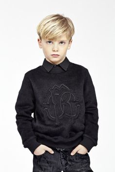 RC Junior -Roberto Cavalli Official Website & Online Store - New Ideas Boys Long Hairstyles Kids, Boy Haircuts Long, Little Boy Hairstyles, Toddler Boy Haircuts, Girl Hairstyles, Toddler Boys, Roberto Cavalli, Boys Haircut Styles, Baby Haircut