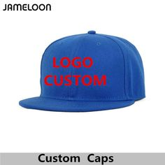 7c405f3a Custom Snapback Hat Free Logo Text Photo Embroidery Men Women Adult Kids  Personalized Hiphop Fashion Team Family Free Shipping #Affiliate