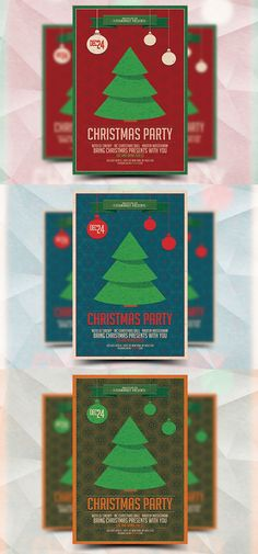 Christmas Party - Flyer Template. Flyer Templates