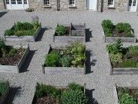 series of interconnecting herbal gardens there is a large kitchen garden, a tea walk, a medicinal herb courtyard, a medieval monastic herb garden and a garden of aromatic and fragrant herbs.