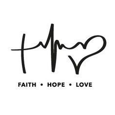 Love peace hope tattoo — photo 1