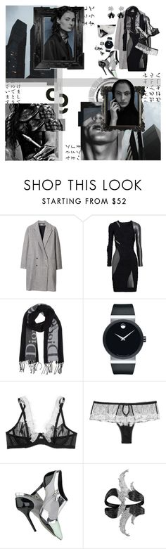 """We are not your lovers, we are not your friends / We are just sinners, we can tempt to death."" by hell-in-heels ❤ liked on Polyvore featuring Les Prairies de Paris, Hervé Léger, Christian Dior, Movado, Mimi Holliday by Damaris, Balenciaga, AS29, Chanel, American Eagle Outfitters and Goodlife"