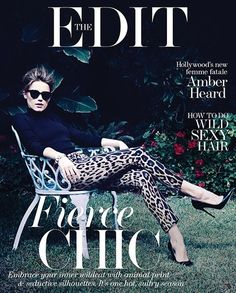 Sunlight on Cold Water: Amber Heard for Net-a-Porter's The Edit