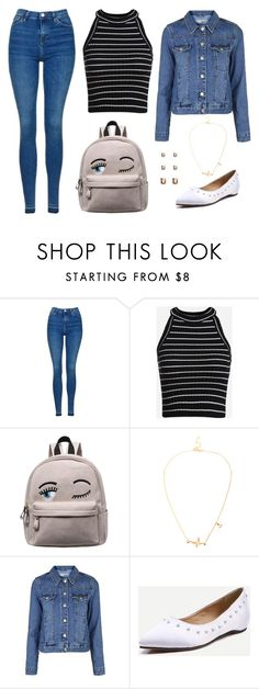 """Untitled #141"" by elo379 ❤ liked on Polyvore featuring Topshop"