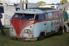 VW bus campervan kombi Volkswagen