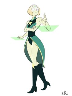 I'M FREAKING OUT SO BADLY RIGHT NOW!!!!!!! ITS A FUSION OF PEARL AND PERIDOT!!!!!!! IT LOOKS SO PERFECT!!!!!!!!!!!!!!!!!!!!!!!!!!!
