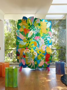 Furniture Designer Chris Wolston Shares the Inspiration Behind His Mixed Material Work Tropical Furniture, Tropical Decor, Tropical Chandeliers, Weird Furniture, Large Chair, Dumpster Diving, Wicker Chairs, Outdoor Sculpture, Play Soccer