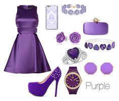 """Purple"" by mili-sifon ❤ liked on Polyvore featuring BaubleBar, Oscar de la Renta, Bling Jewelry, Cynthia Rowley, Liz Claiborne and adidas"
