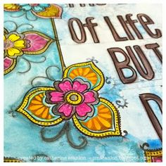 Art Journal Page for Sizzix