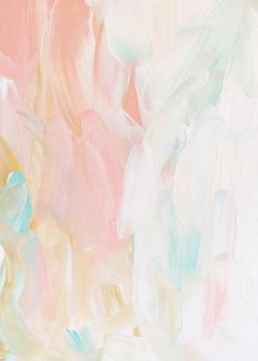 Color palette: Beautiful pastel palette with white, pinks and pops of bright turquoise. I love the color inspiration of this paint texture.