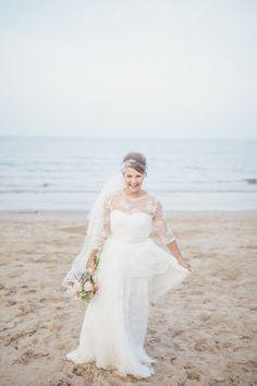 Vintage loving bride: http://www.stylemepretty.com/destination-weddings/2015/07/16/rustic-newton-hall-wedding-in-coastal-northumberland/ | Photography: Sarah-Jane Ethan - http://sarahjaneethan.co.uk/