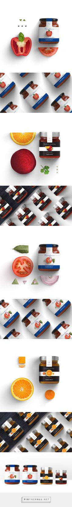 """Takk Norge (Food Solutions) or """"Norway thank you"""", as its name is translated in English. Minimal aesthetics, with clear typography forms create a special line in the shelves of the Norwegian market."""