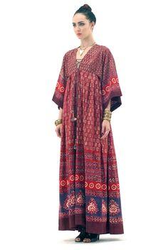 Gypsy Gorge....Anouk Bohemian Tribal Dress, again Spanish Moss