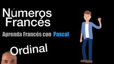 Números ordinales en Francés con Pascal Ecards, Memes, Ordinal Numbers, French Nails, Names, Words, Fle, Colors, E Cards