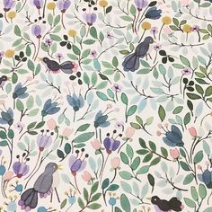 {INSPIRED} I picked up this beautiful handmade watercolour wrapping paper in a tiny wrapping paper stationery shop the other day! It has inspired me to do a little more illustration and pattern making in my designs for my clients as well!! #inspireddesign