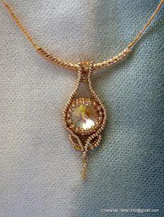 Veta's Art with Beads: Golden Shadow