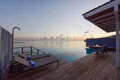 Artkalia Eggy table lamp at Kuramathi Island Resort Maldives