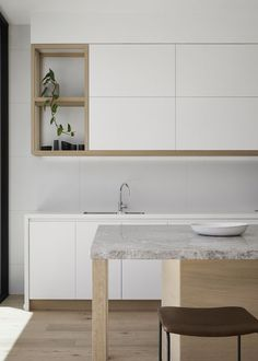 Fascinating Tips: Minimalist Decor Tips Interior Design minimalist kitchen bar stainless steel.Minimalist Home Living Room Kitchens minimalist kitchen utensils stainless steel. Interior Design Minimalist, Australian Interior Design, Interior Design Awards, Interior Design Kitchen, Kitchen Designs, Zen Kitchen, Timber Kitchen, Home Decor Kitchen, Home Kitchens