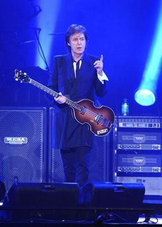 #Sir_Paul tore it up at #Bonnaroo tonight!!  Paul McCartney | GRAMMY.com