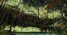Forest Bridge by rayk.deviantart.com on @deviantART