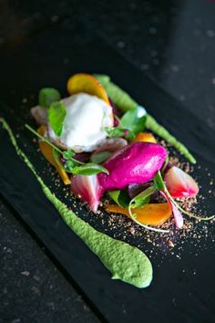 Beet salad, Bellamy's, Escondido